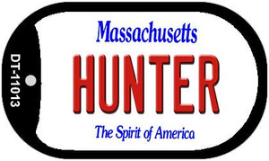 Hunter Massachusetts Wholesale Novelty Metal Dog Tag Necklace DT-11013