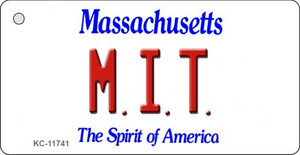 MIT Massachusetts Wholesale Novelty Metal Key Chain KC-11741