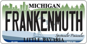 Frankenmuth Michigan Wholesale Novelty Metal Bicycle Plate BP-11029