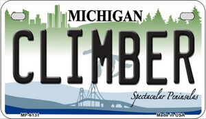 Climber Michigan Wholesale Novelty Metal Motorcycle Plate MP-6131