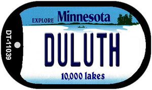 Duluth Minnesota Wholesale Novelty Metal Dog Tag Necklace DT-11039
