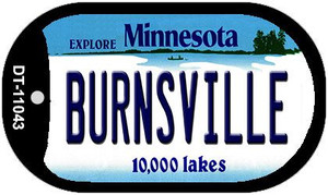 Burnsville Minnesota Wholesale Novelty Metal Dog Tag Necklace DT-11043