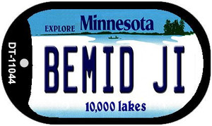 Bemid Ji Minnesota Wholesale Novelty Metal Dog Tag Necklace DT-11044