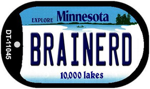 Brainerd Minnesota Wholesale Novelty Metal Dog Tag Necklace DT-11045