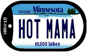 Hot Mama Minnesota Wholesale Novelty Metal Dog Tag Necklace DT-11061