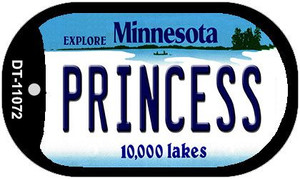 Princess Minnesota Wholesale Novelty Metal Dog Tag Necklace DT-11072