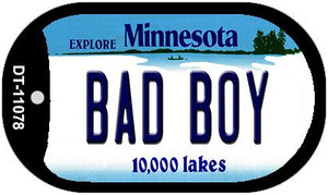 Bad Boy Minnesota Wholesale Novelty Metal Dog Tag Necklace DT-11078
