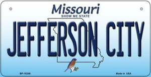 Jefferson City Missouri Wholesale Novelty Metal Bicycle Plate BP-10246