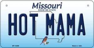 Hot Mama Missouri Wholesale Novelty Metal Bicycle Plate BP-10259