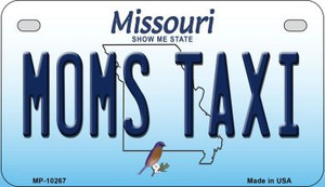Moms Taxi Missouri Wholesale Novelty Metal Motorcycle Plate MP-10267