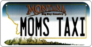 Moms Taxi Montana Wholesale Novelty Metal Bicycle Plate BP-11115