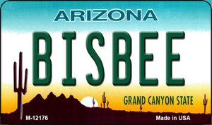 Bisbee Arizona Wholesale Novelty Metal Magnet M-12176