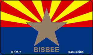 Bisbee Arizona Flag Wholesale Novelty Metal Magnet M-12177