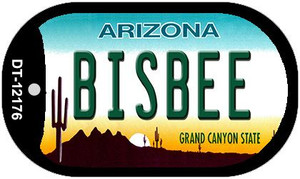 Bisbee Arizona Wholesale Novelty Metal Dog Tag Necklace DT-12176