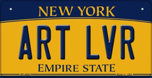 Art LVR New York Wholesale Novelty Metal Bicycle Plate BP-8998