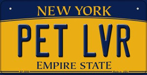 Pet LVR New York Wholesale Novelty Metal Bicycle Plate BP-8999