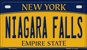 Niagara Falls New York Wholesale Novelty Metal Motorcycle Plate MP-8938