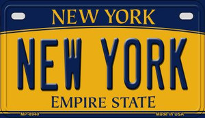 New York Wholesale Novelty Metal Motorcycle Plate MP-8940
