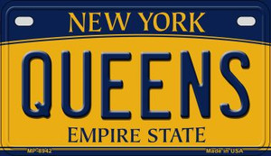 Queens New York Wholesale Novelty Metal Motorcycle Plate MP-8942