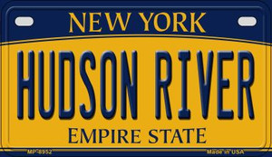 Hudson River New York Wholesale Novelty Metal Motorcycle Plate MP-8952