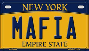 Mafia New York Wholesale Novelty Metal Motorcycle Plate MP-8962