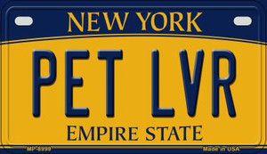 Pet LVR New York Wholesale Novelty Metal Motorcycle Plate MP-8999