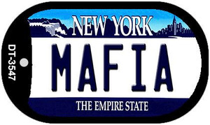 Mafia New York Wholesale Novelty Metal Dog Tag Necklace DT-3547