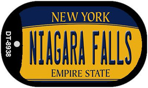 Niagara Falls New York Wholesale Novelty Metal Dog Tag Necklace DT-8938