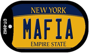 Mafia New York Wholesale Novelty Metal Dog Tag Necklace DT-8962