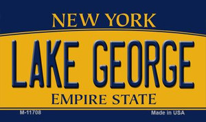 Lake George New York Wholesale Novelty Metal Magnet M-11708
