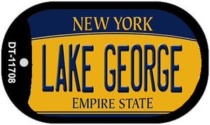 Lake George New York Wholesale Novelty Metal Dog Tag Necklace DT-11708