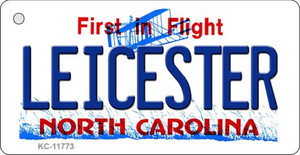 Leicester North Carolina Wholesale Novelty Metal Key Chain KC-11773