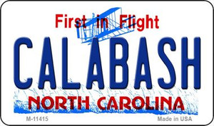 Calabash North Carolina Wholesale Novelty Metal Magnet M-11415