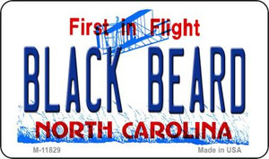 Black Beard North Carolina Wholesale Novelty Metal Magnet M-11829