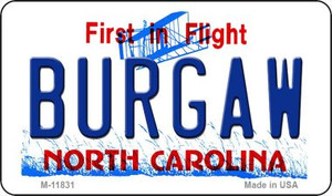 Burgaw North Carolina Wholesale Novelty Metal Magnet M-11831