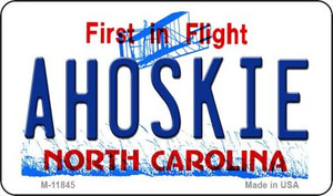 Ahoskie North Carolina Wholesale Novelty Metal Magnet M-11845