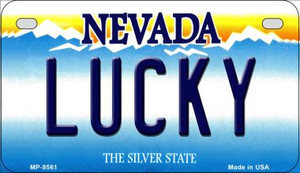 Lucky Nevada Wholesale Novelty Metal Motorcycle Plate MP-9561