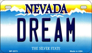 Dream Nevada Wholesale Novelty Metal Motorcycle Plate MP-9573