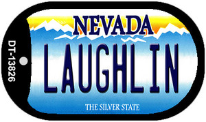 Laughlin Nevada Wholesale Novelty Metal Dog Tag Necklace
