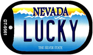 Lucky Nevada Wholesale Novelty Metal Dog Tag Necklace DT-9561