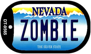 Zombie Nevada Wholesale Novelty Metal Dog Tag Necklace DT-9565