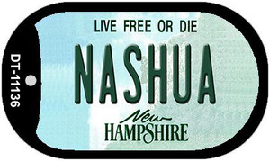 Nashua New Hampshire Wholesale Novelty Metal Dog Tag Necklace DT-11136