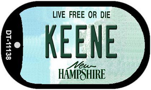 Keene New Hampshire Wholesale Novelty Metal Dog Tag Necklace DT-11138