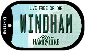 Windham New Hampshire Wholesale Novelty Metal Dog Tag Necklace DT-11148