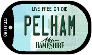 Pelham New Hampshire Wholesale Novelty Metal Dog Tag Necklace DT-11150
