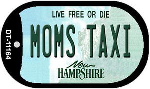Moms Taxi New Hampshire Wholesale Novelty Metal Dog Tag Necklace DT-11164