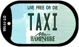 Taxi New Hampshire Wholesale Novelty Metal Dog Tag Necklace DT-11166