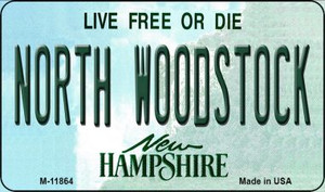 North Woodstock New Hampshire Wholesale Novelty Metal Magnet M-11864