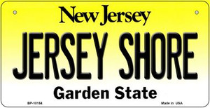 Jersey Shore New Jersey Wholesale Novelty Metal Bicycle Plate BP-10154