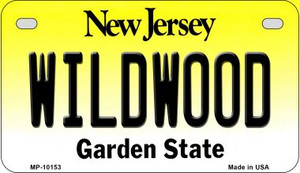 Wildwood New Jersey Wholesale Novelty Metal Motorcycle Plate MP-10153